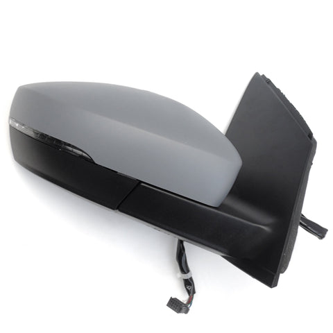 VW Polo 6r Electric Door Wing Mirror Right Drivers Side Primed Cover