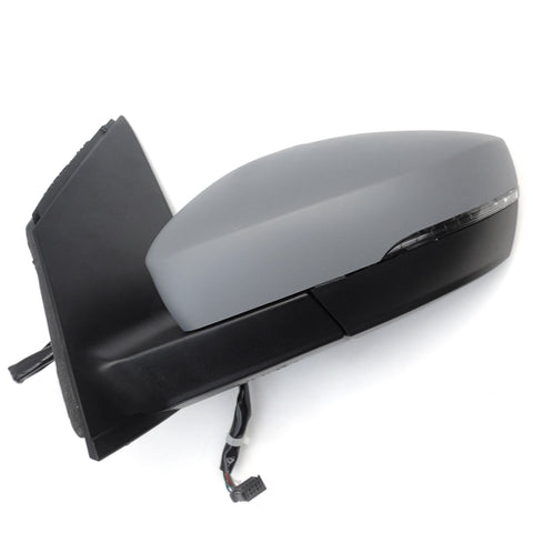 VW Polo 6r Electric Door Wing Mirror Left Passenger Side Primed Cover