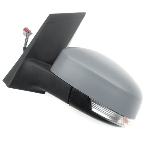 Ford Focus mk2 2008-2011 Left Door Wing Mirror unit with Primed Cover