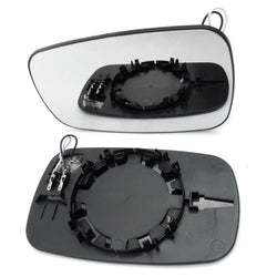 Renault Megane mk2 Door Wing Mirror New Replacement Glass Heated Left Nearside Passenger Side