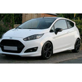 Ford Fiesta mk7 Gloss Black Door Wing Mirror Covers Pair Left & Right