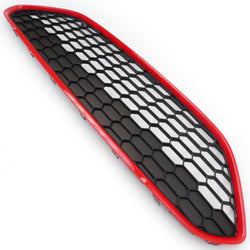 Ford Fiesta mk7 Honeycomb Zetec S Style Front Grille Black & Red