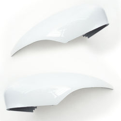 Ford Fiesta mk7 Frozen White Wing Mirror Covers Pair