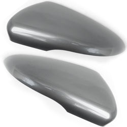 VW Golf mk6 United Grey Wing Mirror Covers Caps Pair Left & Right Drivers Side