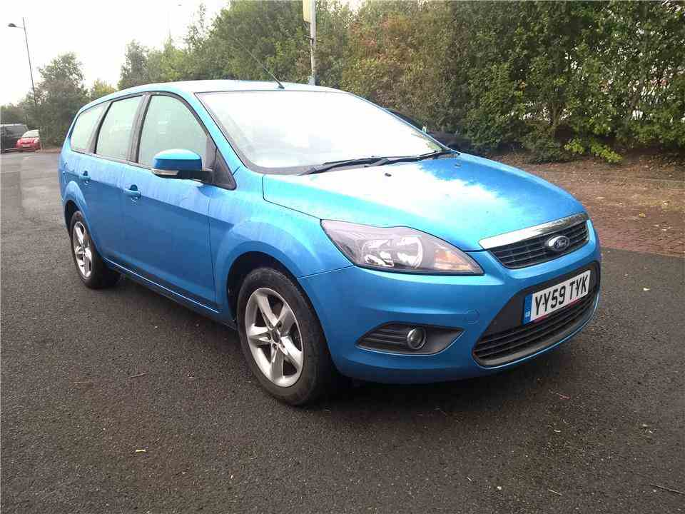 Ford Focus Mk2 Right Offside Drivers Side Full Door Wing