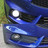 Ford Fiesta ST Gloss Black Lower Front Bumper Grille & Fog Covers