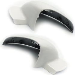 Vauxhall Insignia A White Door Wing Mirror Covers Caps Pair Left Right side
