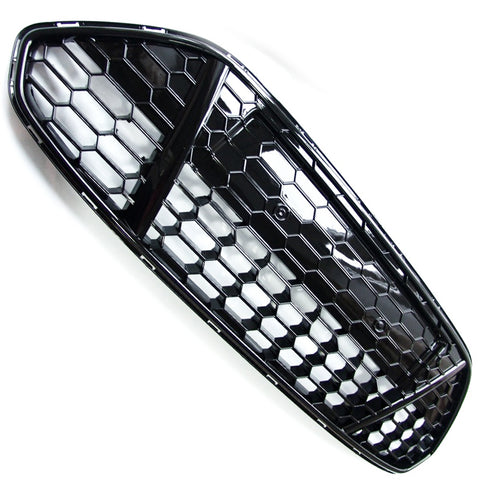 Ford Mondeo mk4 Titanium X Gloss Black Sport Honeycomb Mesh Front Grille