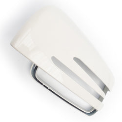White Door Wing Mirror Cover Left Side for Mercedes A B C E S CLA GLA
