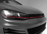 VW Golf mk7 Badgeless GTI Style Honeycomb Front Bumper Grille
