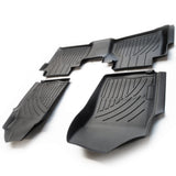 Nissan Navara 2016-2020 Tailored Deep Heavy Duty Tray Rubber Floor Mats Full Set