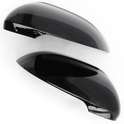 VW Passat B8 Deep Black Door Wing Mirror Covers Caps Pair Left & Right