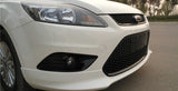 Ford Focus Gloss Black Honeycomb Front Bumper Grilles & Fog Lights