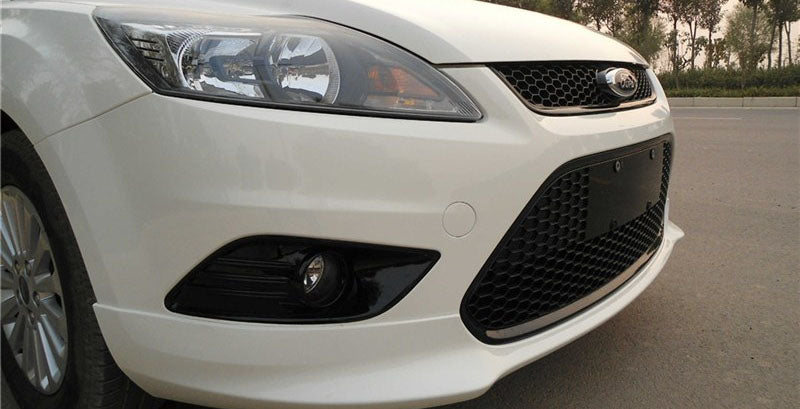 Ford Focus Mk2 Gloss Black Honeycomb Mesh Rs Style Bumper Grilles Underground Parts