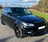 Range Rover Sport Black Dynamic Style Front Fog Light Covers