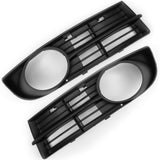VW Touran 2003-06 Front Fog Light Surrounds Covers Bumper Grilles Pair
