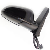 Vauxhall Astra J Electric Door Wing Mirror Black Sapphire Right Side
