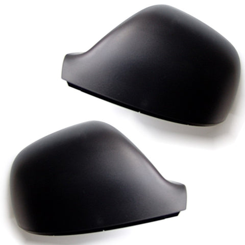 VW T5 T6 Transporter Caravelle Left & Right Black Wing Mirror Covers