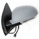 VW Golf mk5 Complete Electric Door Wing Mirror Primed Cover Left Passenger