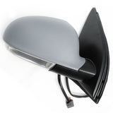 VW Golf mk5 Complete Electric Door Wing Mirror Primed Cover Right Driver side