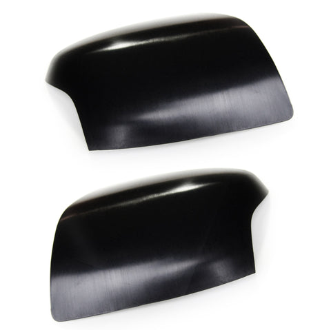 Ford Focus mk2 Wing Mirror Covers Caps Left & Right side Black plastic