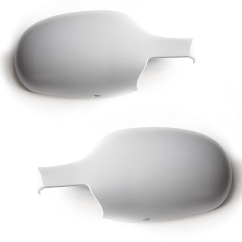 Renault Clio mk2 Wing Mirror Covers Caps Primed Pair left & right