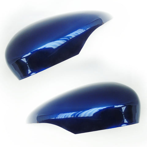 Ford Fiesta mk7 Deep Impact Blue Wing Mirror Covers Pair