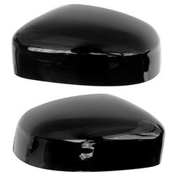 Ford Focus 2008 - 2018 Gloss Black Door Mirror Covers Caps - Left & Right