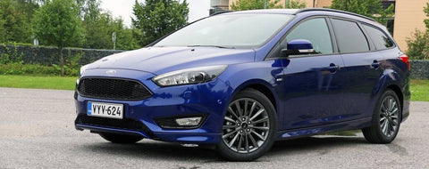 Ford Focus Mk3 St Line Style All Black Honeycomb Mesh Front Bumper