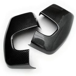 Ford Transit Custom Van 2012-19 Carbon Fibre Effect Wing Mirror Covers
