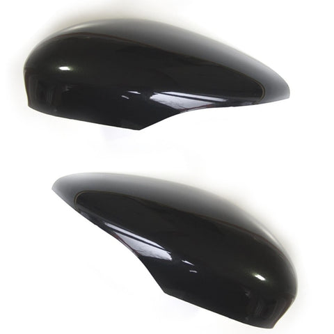 Ford Fiesta mk7 Metallic Black Wing Mirror Covers Pair