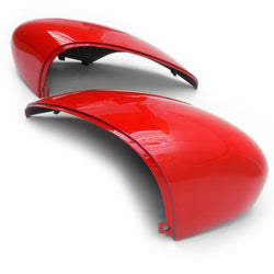 Ford Fiesta mk7 Colorado Red Door Wing Mirror Covers Caps Pair