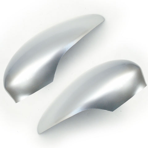 Ford Fiesta mk7 Moondust Silver Door Wing Mirror Covers Caps Pair