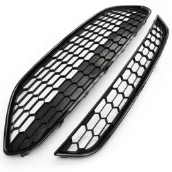 Ford Fiesta mk7 2013-17 Honeycomb Zetec S Style Front Grilles Black