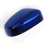 Ford Focus 08-18 Right Side Door Wing Mirror Cover Deep Impact Blue