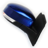 Deep Impact Blue Ford Focus mk3 2012-2017 Full Door Wing Mirror Right Driver side