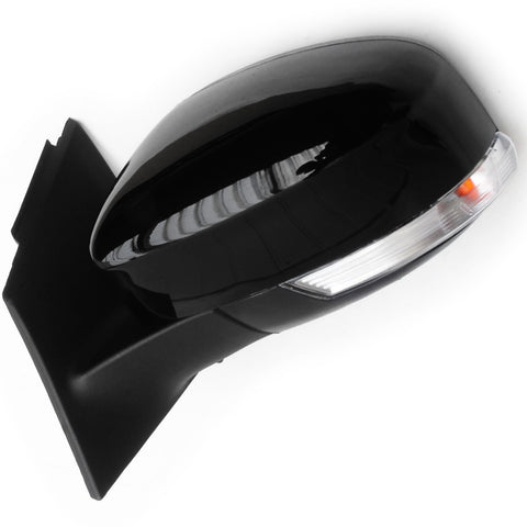 Shadow Black Ford Focus mk3 2012-2017 Full Door Wing Mirror Left