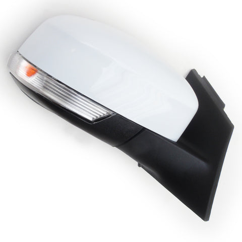 Frozen White Ford Focus mk3 2012-2017 Full Door Wing Mirror Right