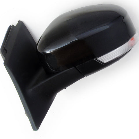 Panther Black Ford Focus mk3 2012-2017 Full Door Wing Mirror Left Passenger side