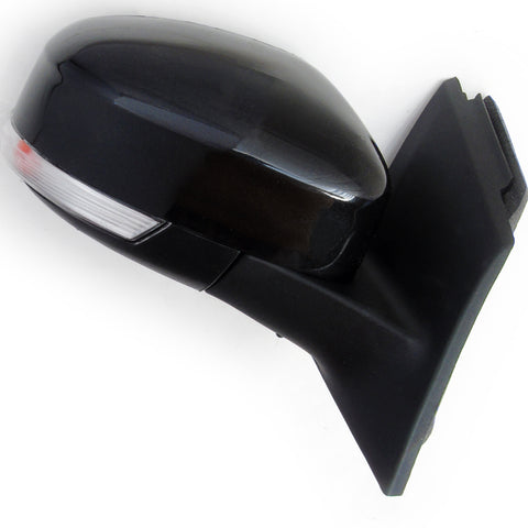 Panther Black Ford Focus mk3 2012-2017 Full Door Wing Mirror Right Driver Side