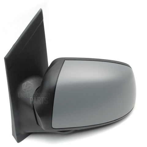 Ford Focus mk2 2005 - 2007 Left Passenger Nearside Full Side Door Wing Mirror Unit with Primed Cover