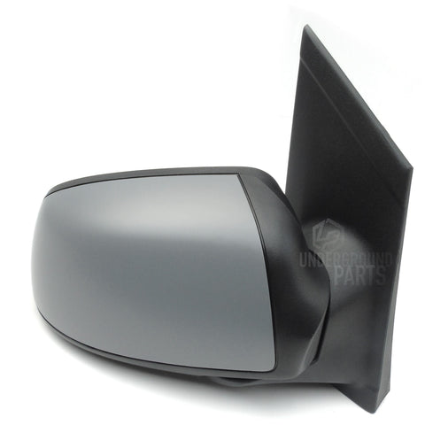 Ford Focus mk2 2005 - 2007 Right Offside Drivers Side Full Side Door Wing Mirror Unit with Primed Cover