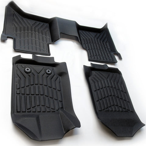 Ford Ranger Pickup 2012-2020 Tailored fit Heavy Duty Deep Rubber Floor Mats