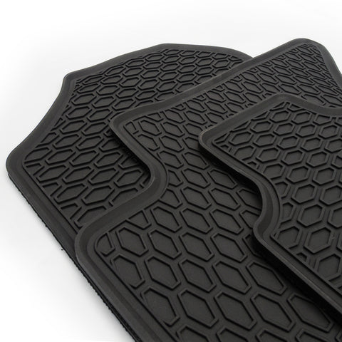 Ford Ranger Pickup 2012-2020 Tailored fit Rubber Floor Mats Tray Set