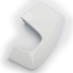 Ford Transit Custom Door Wing Mirror Cover Cap Frozen White Left Side
