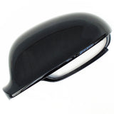 VW Golf mk5 Left Passenger Side Door Wing Mirror Cover Cap Casing Black