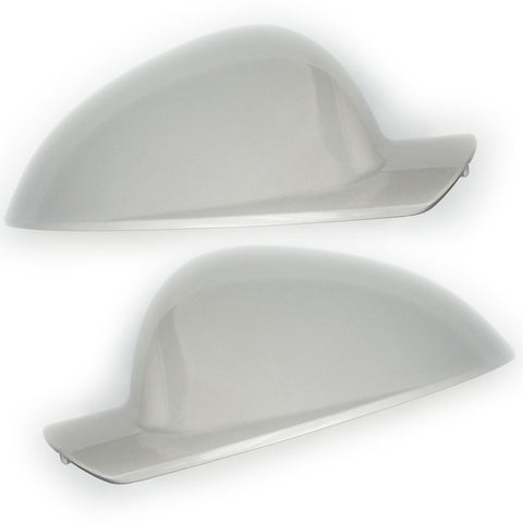 Vauxhall Insignia A Silver Door Wing Mirror Covers Caps Pair left & Right