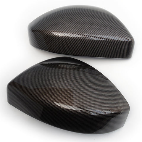 Land Rover Discovery Sport Range Rover Evoque Carbon Fibre Effect Mirror Covers Caps