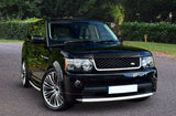 Range Rover Sport 05-09 Autobiography Black & Silver Grilles