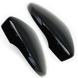 VW Passat / Scirocco Deep Black Wing Mirror Covers Caps Pair left & Right